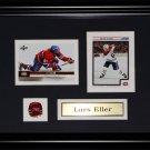 Lars Eller Montreal Canadiens NHL 2 card frame
