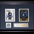 Nik Antropov Winnipeg Jets 2 card frame