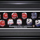 Washington Capitals Jersey Evoltuion frame