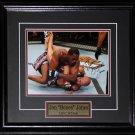 Jon Jones UFC signed 8x10 frame