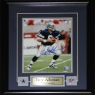Troy Aikman Dallas Cowboys Signed 8x10 Frame