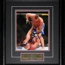 Chuck Liddell UFC signed 8x10 frame