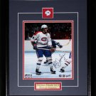 Rejean Houle Montreal Canadiens signed 8x10 frame