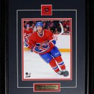 Brandon Prust Montreal Canadiens 8x10 frame
