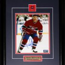 Ron Wilson Montreal Canadiens signed 8x10 frame