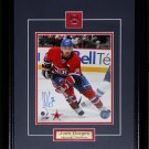 Josh Gorges Montreal Canadiens signed 8x10 frame