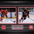 Jonathan Toews Chicago Blackhawks signed 2 photo frame