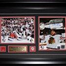 Patrick Kane Chicago Blackhawks 2013 Stanley Cup signed 2 photo frame