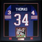 Thurman Thomas Buffalo Bills signed jersey frame