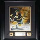 Bobby Orr Boston Bruins signed 11x14 frame