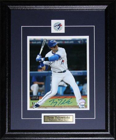 Troy Tulowitzki Toronto Blue Jays signed 8x10 frame