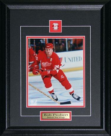 Bob Probert Detroit Red Wings 8x10 frame