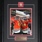 Jonathan Toews & Patrick Kane Chicago Blackhawks 2015 Stanley Cup 8x10 frame