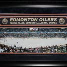 Edmonton Oilers Rexall Place Panorama Deluxe Frame