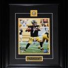 Ben Roethlisberger Pittsburgh Steelers signed 8x10 frame