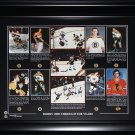 Bobby Orr Boston Bruins 16x20 compilation frame