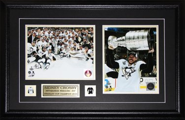 Sidney Crosby Pittsburgh Penguins 2016 Stanley Cup 2 Photo Frame