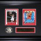 DeMar DeRozan Toronto Raptors 2 card frame