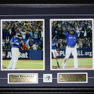 Jose Bautista & Edwin Encarnacion Bat Flip & Bat Drop Home Run 2 photo frame