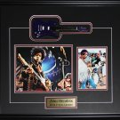Jimi Hendrix Miniature Guitar 2 photograph frame