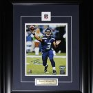 Russell Wilson Seattle Seahawks signed 8x10 frame