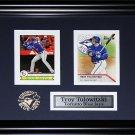 Troy Tulowitzki Toronto Blue Jays 2 card frame