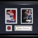 Tomas Plekanec Montreal Canadiens 2 card frame