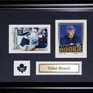 Tyler Bozak Toronto Maple Leafs 2 card frame