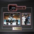 The Beatles Miniature Guitar 2 photo frame