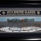 2014 Winter Classic Ann Arbour Big House Toronto Maple Leafs Detroit Red Wings d