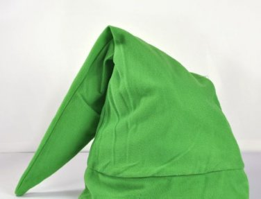 Free shipping from USA The Legend Of Zelda Link Cosplay Green Plush Hat Cap NEW