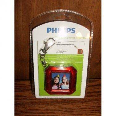 PHILIPS 1.5 INCH LCD DIGITAL PHOTO KEYCHAIN NEW