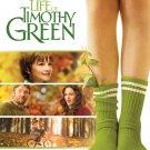 DISNEYS THE ODD LIFE OF TIMOTHY GREEN DVD NEW