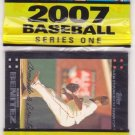 2007 topps baseball 21 card rack pack
