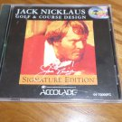 JACK NICKLAS GOLF AND COURSE DISIGN PC GAME