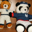 TWO NEW YORK YANKEE BEARS