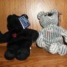 TWO NEW YORK YANKEE BEARS JETER & CLEMENS