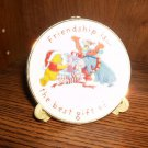 WINNIE THE POOH FRIENDSHIP IS THE BEST GIFT PLATE