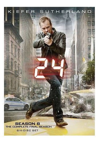 24 COMPLETE SEASON 8 ON DVD