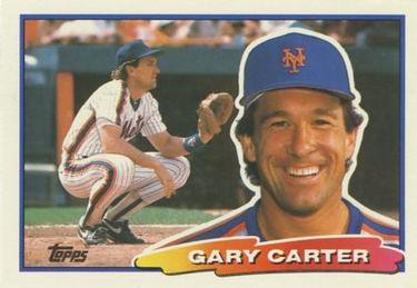 1988 Topps Big #37 Gary Carter - New York Mets (Baseball Cards)
