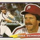 988 Topps Big #88 Mike Schmidt - Philadelphia Phillies (Baseball Cards)