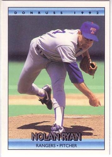 1992 donruss nolan ryan 707 Baseball Card