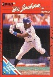 1990 Donruss Grand Slammers #12 Bo Jackson Card