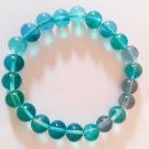 Stretch bracelet sea green