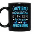 I'm an autism mom Coffee Mug_Black