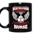 I own it forever the title nurse Coffee Mug_Black