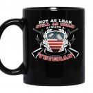 Not as lean still as mean always a veteran Coffee Mug_Black