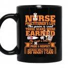 Nurse practitioners life nursing school Coffee Mug_Black