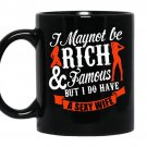 I may not be rich and famous but i do have a sexy wife Mug_Black