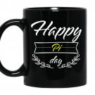 Happy pi day coffee Mug_Black